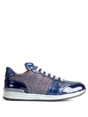 Zecchino d'Oro Runner Sneaker glitter blauw 6202