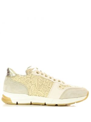 Zecchino d'Oro Sneakers beige kant 6202