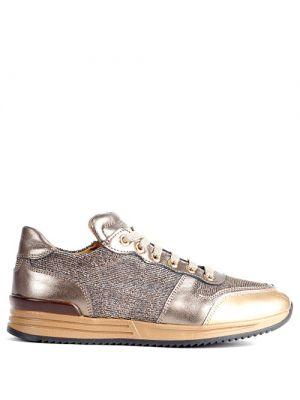 Zecchino d'Oro Sneakers glitter goud 6202