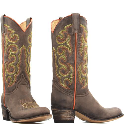 Sendra boots 13549 geel oranje