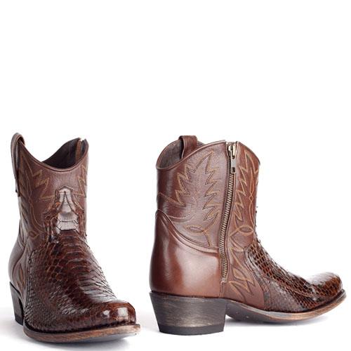 Sendra boots 9469 heren Python riding barr cafe