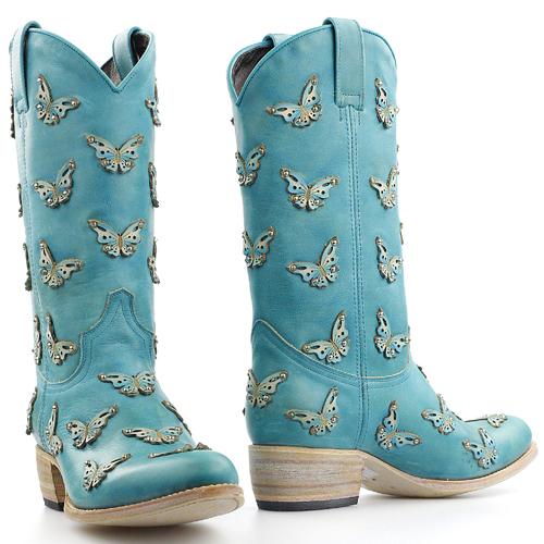 Sendra vlinderlaars Celeste blauw 14325