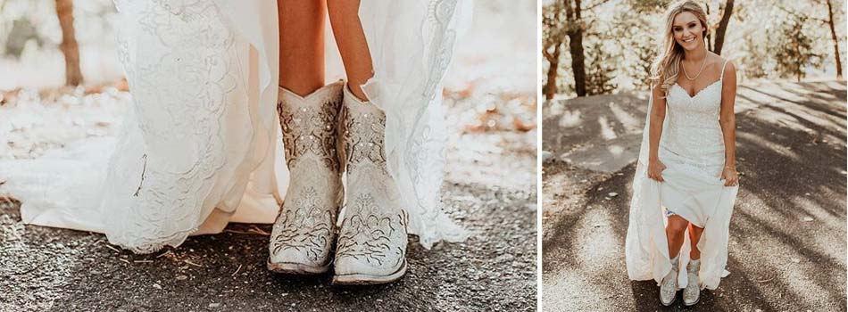 Corral wedding boots