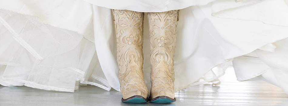 Lane boots bridal trouwlaarzen