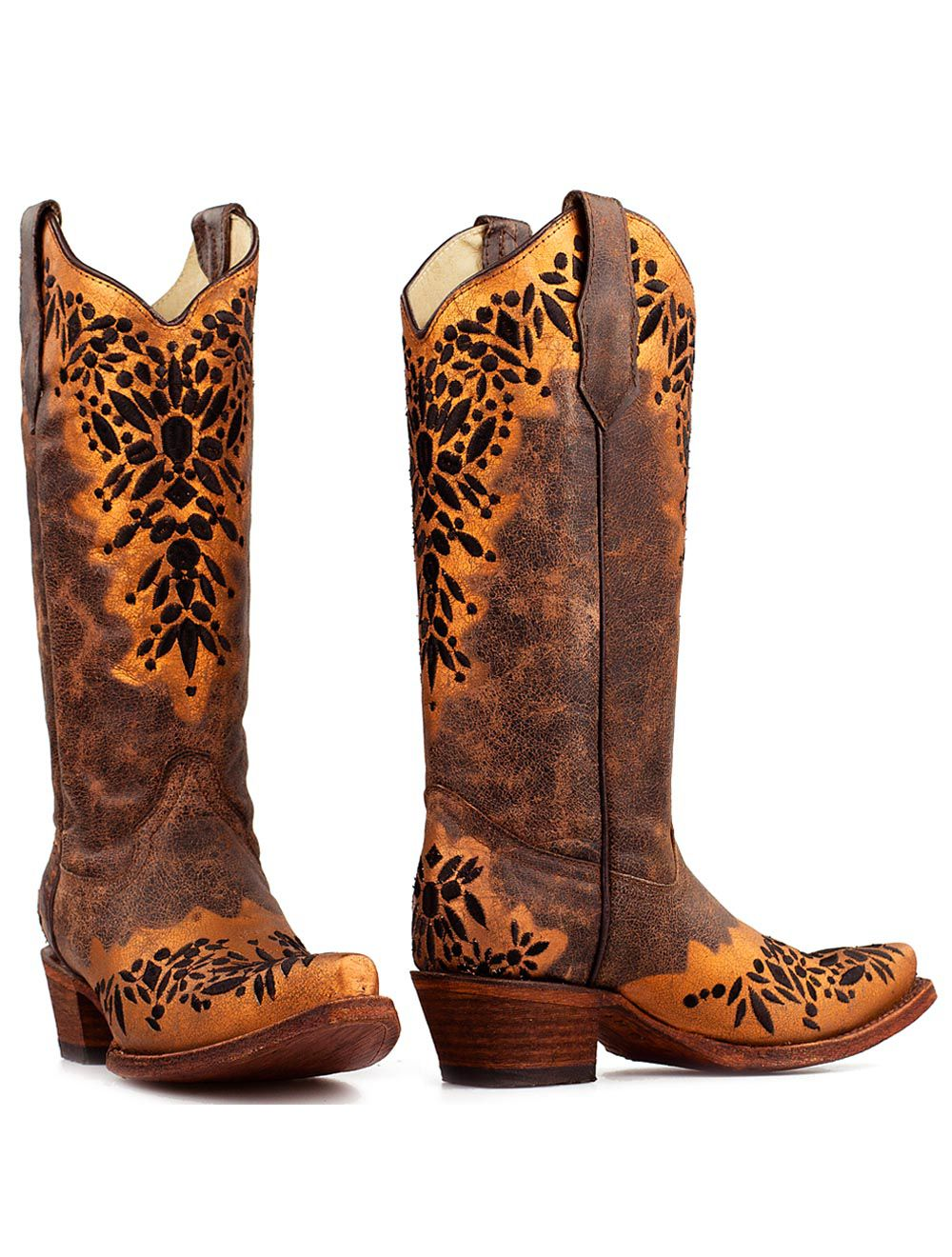 Corral donker bruine boots