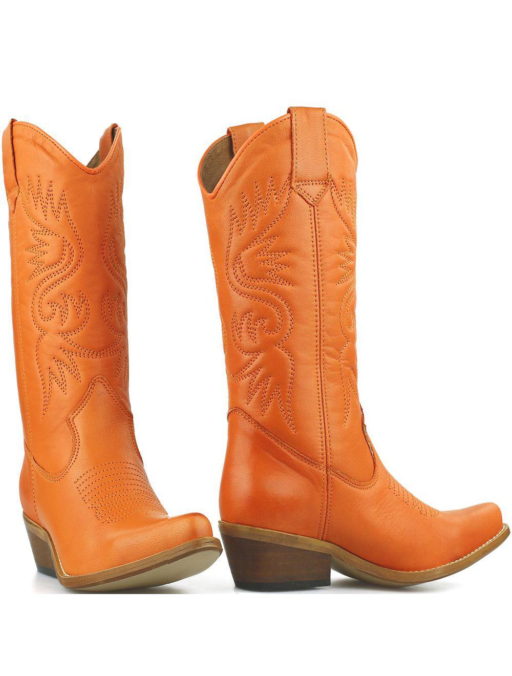 DWRS High Texas 20532 cowboylaarzen oranje