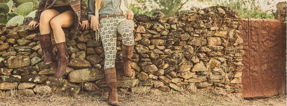 Andaluxx spaanse laarzen suede voor dames